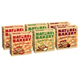 Nature's Bakery Oatmeal Crumble Breakfast Bundle, 6- 6 Count Boxes (36 Bars), Variety Pack, Vegan, Non-GMO