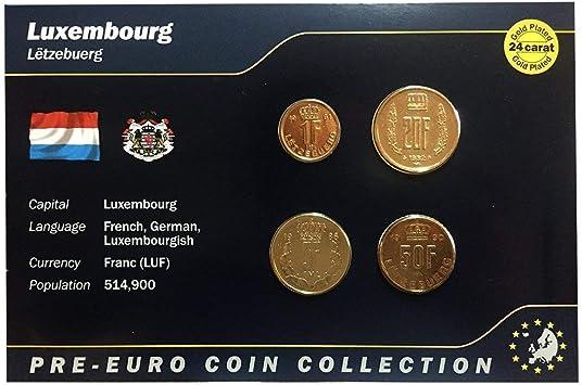 IMPACTO COLECCIONABLES Monedas Pre-Euro de Luxemburgo ...