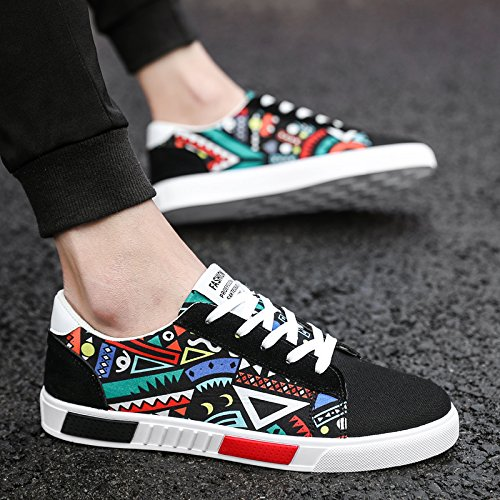 HGTYU In Summer Personality All-Match Youth Canvas Shoes Shoes Colorful tbTCO63n4n