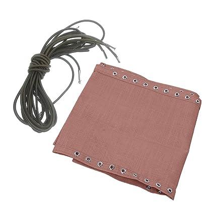 Amazon.com: Flameer - Tela de tela resistente con cordones ...