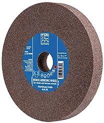 PFERD 61742 Bench Grinding Wheel, Alumin...
