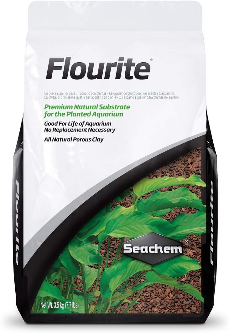 Seachem Flourita, 7 kg.