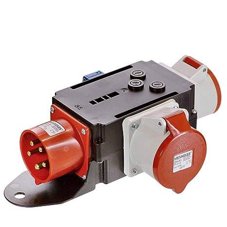 Super as - Schwabe MIXO Adapter / Stromverteiler MOSEL – CEE-Stecker auf AJ25