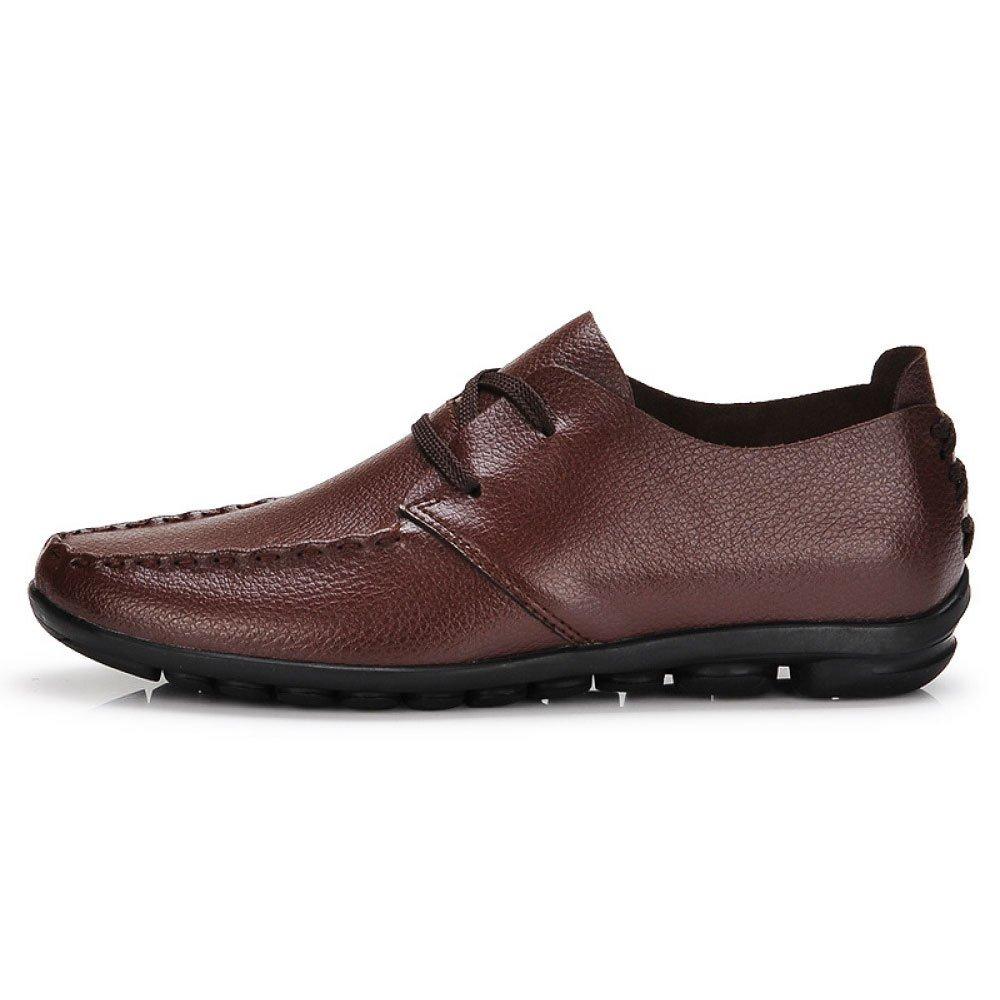 Business Männer Schuhe Breathable Casual Schuhe Wild Classic Arbeitsschuhe Bequem Braun