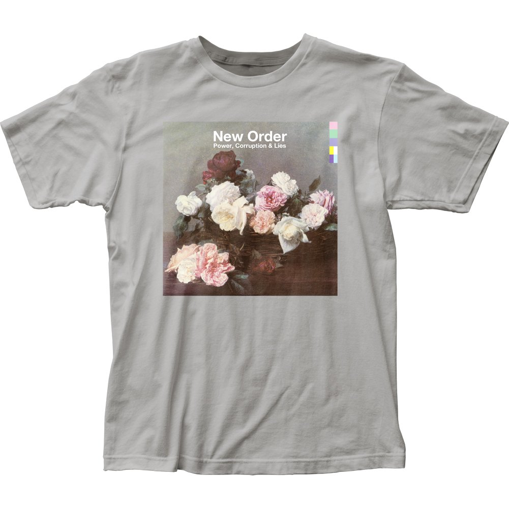 New Order Power, Corruption & Lies fitted jersey tee (XL)