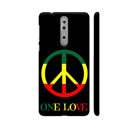 725ed8bea Colorpur Peace One Love Printed Back Case Cover for  Amazon.in  Electronics