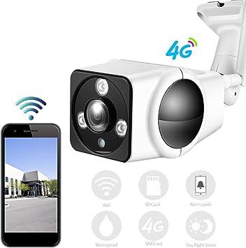 HD 1080P Mini cámara de vigilancia 3G 4G SIM Card IP Camera ...