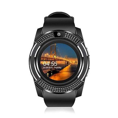 Teepao Smart Watch con cámara, V8 Smart Watch Bluetooth con ...
