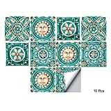 bathroom tile ideas for small bathrooms alwayspon Waterproof Vinyl Wall Tiles Sticker for Home Decor, Self-Adhesive Peel and Stick Backsplash Tile Decals for Kitchen Bathroom Decor, 6x6inch 10 Pcs