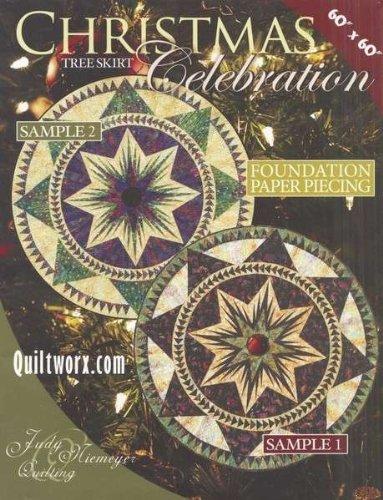 Christmas Tree Skirt Quilt - Judy Niemeyer Quilting Christmas Celebration Tree Skirt Quilt Pattern