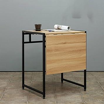 Mesas Plegables De Madera Para Comedor.Ynn Table Mesa De Comedor Individual Portatil Para Dos Mesas