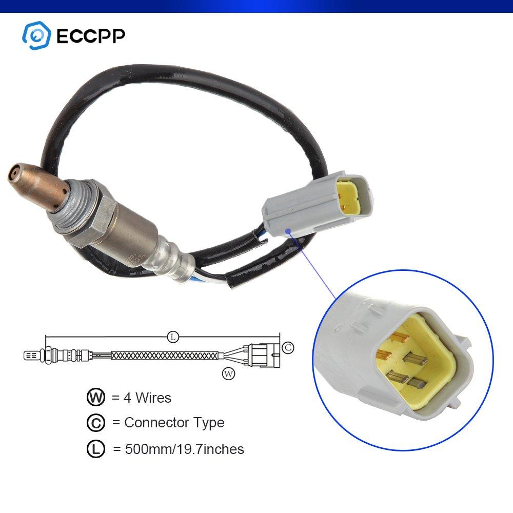 ECCPP Air-Fuel Ratio Oxygen Sensor Upstream/Pre Fit 234-9038 4-Wire Air Fuel Ratio Sensor for Nissan Altima Frontier 2.5L