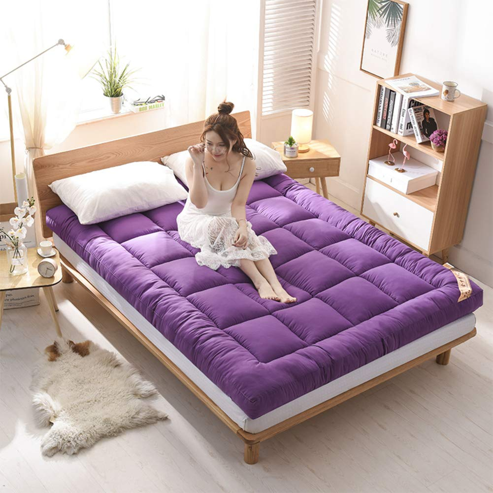 F 120x200cm(47x79inch) Warm Thick Lambs Mattress,Breathable Single Double Tatami Mattress,Suitable Student Dormitory Family Room-B 180x200cm(71x79inch)