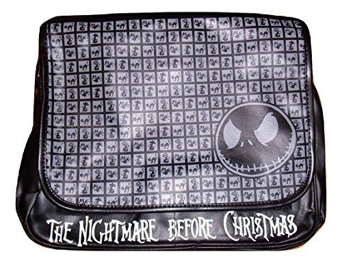 cruzados mujer negro negro para Christmas The Bolso Nightmare Before Medium UnwqIP7B