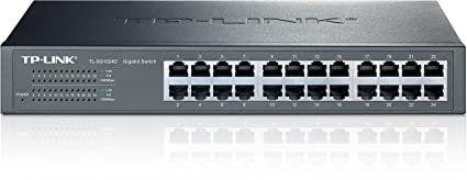 New Tp-link Tl-sg1024d 24 Port Gigabit Easy Smart Switch Computer Networking Computers/tablets & Networking Home Networking & Connectivity