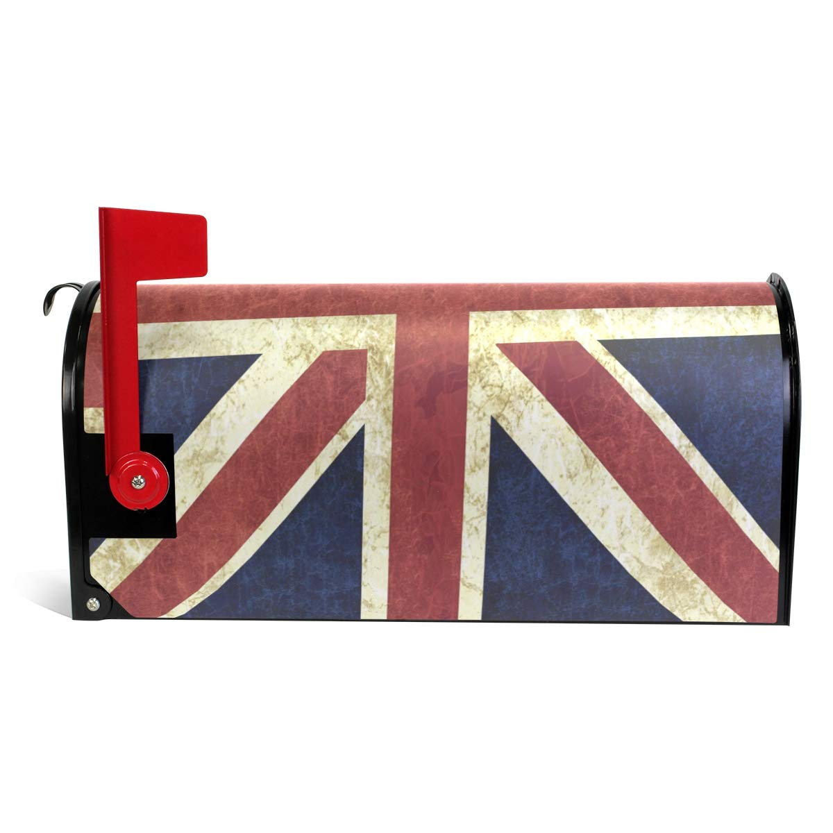 ALAZA Retro British Flag Union Jack Mailbox Covers Magnetic 20 8 x