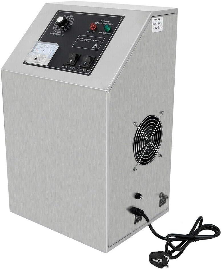 MINUS ONE Generador de ozono Profesional, ozonizador Comercial 5 g ...
