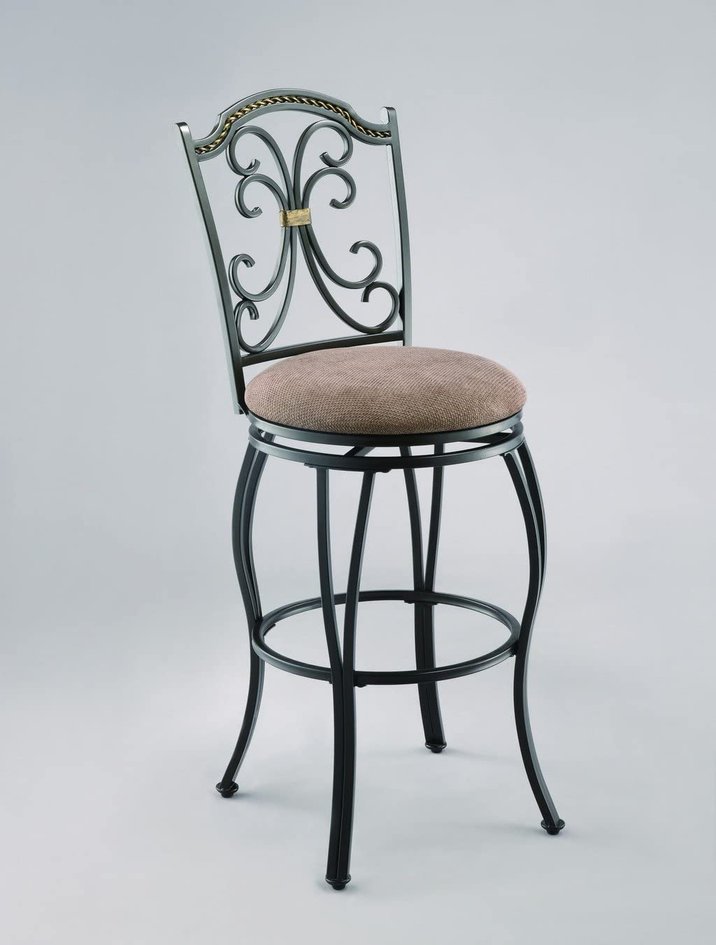 Crown Mark Lauren Swivel 29 Barstool