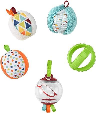 Fisher-Price Bolitas blandas activity, 5 bolas de juguete para ...
