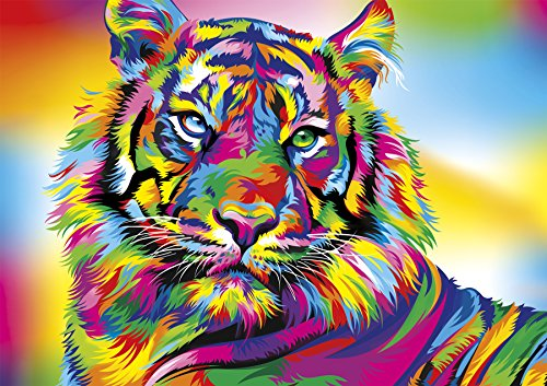 Buffalo Games - Vivid Collection - Tiger Stripes - 300 Large Piece Jigsaw Puzzle