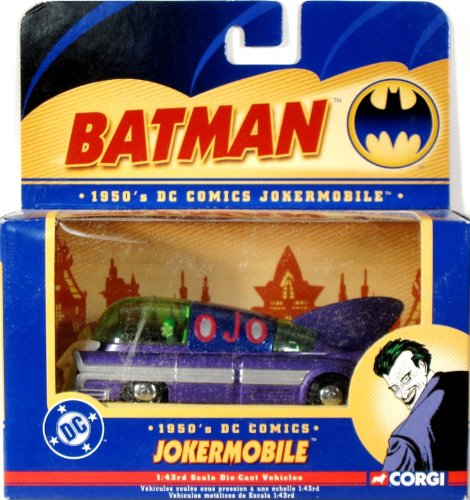 Amazon.com : Chassis Art Collection 1950 Jokermobile And Figure by Master Replicas : Batman Collectibles : Pet Supplies