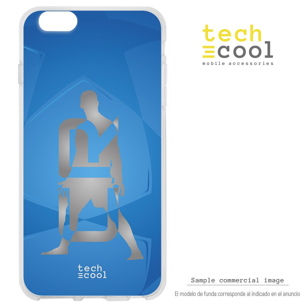 ec7a46a986e FunnyTech® Funda Silicona para iPhone 6 Plus / 6S Plus [Gel Silicona  Flexible Alta