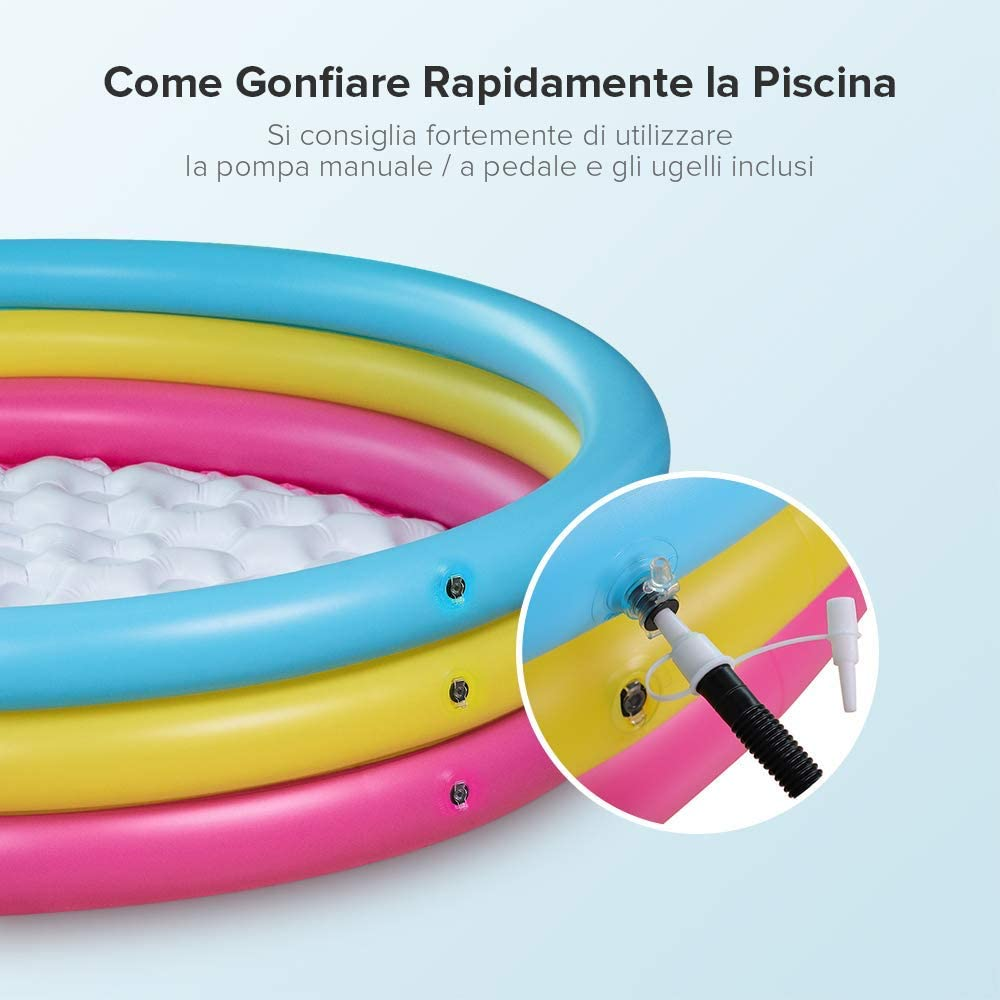 Sable IT SA-HF042 - Piscina Hinchable, Multicolor: Amazon.es: Jardín