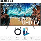 "Samsung UN82NU8000 82"" Class NU8000 Premium Smart 4K Ultra HD TV (2018) (UN82NU8000FXZA) with 6ft High Speed HDMI Cable and Screen Cleaning Kit UN82NU8000 82NU8000"
