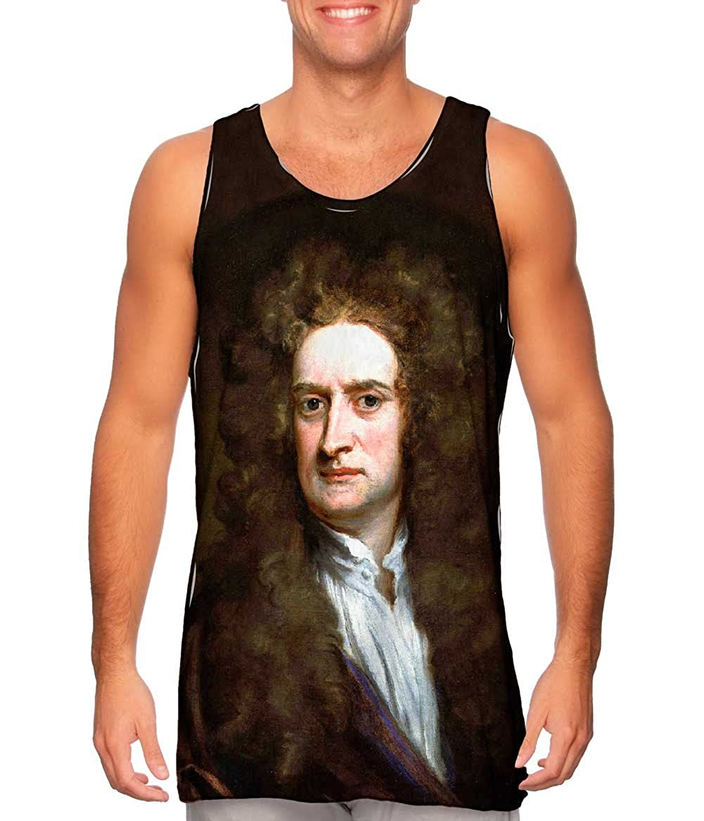 Yizzam- Godfrey Kneller -TShirt- Mens Tank Top Sir Isaac Newton 002 1702