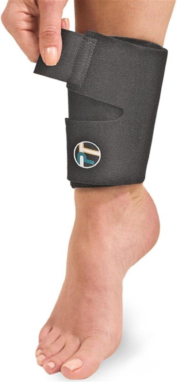 Overuse Injuries DonJoy Performance ANAFORM Neoprene Shin Splint Compression Sleeve Shin Splint Pain Relief Ideal for Running