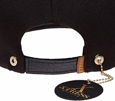 Xtress Exclusive Gorra snapback de color negro para hombre y mujer ...