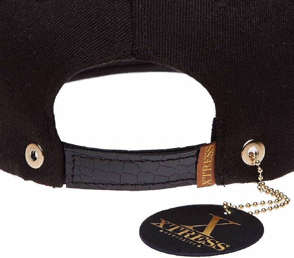 Xtress Exclusive Gorra negra de visera plana con el logo DIVA: Amazon.es: Ropa y accesorios