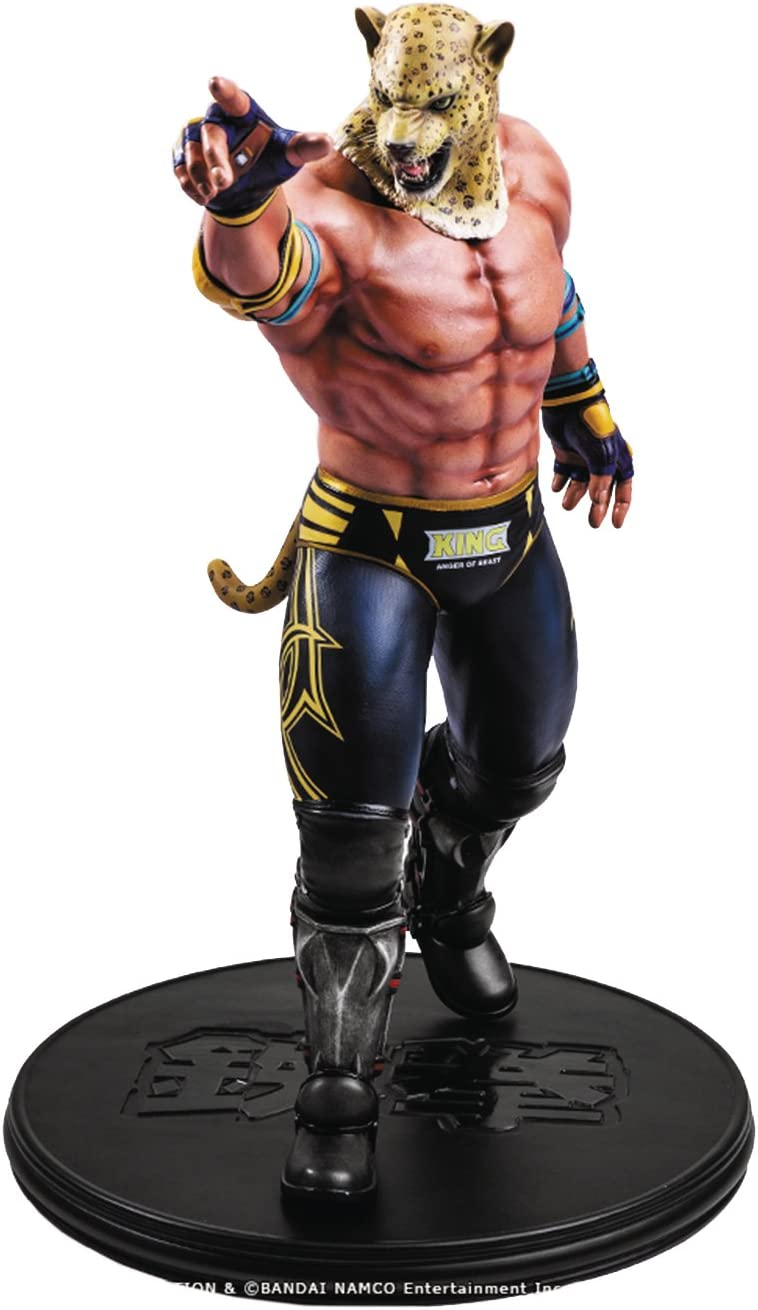 Amazon Com First 4 Figures Tekken 5 King Dark Resurrection