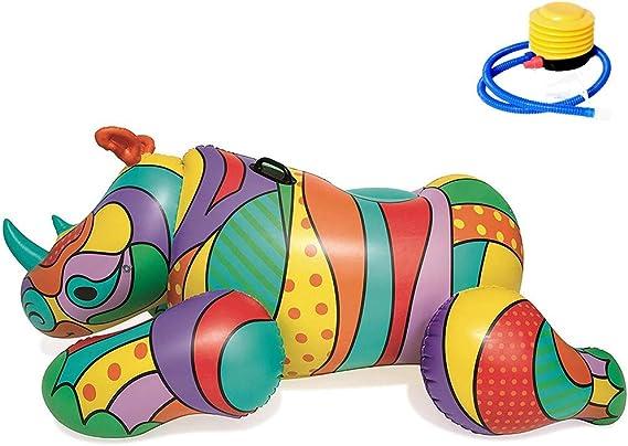 Sommer-Baby-aufblasbares Schwimmen-Hin und Herbewegungs-sicheres Spielzeug-Zubeh/ör Rosa