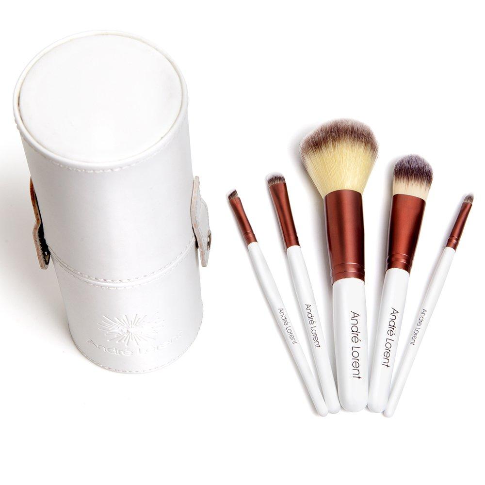 Designer makeup brush set