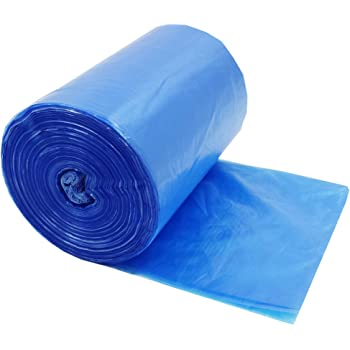 Amazon Com Plasticplace Blue Recycling Bags 40 Gallon