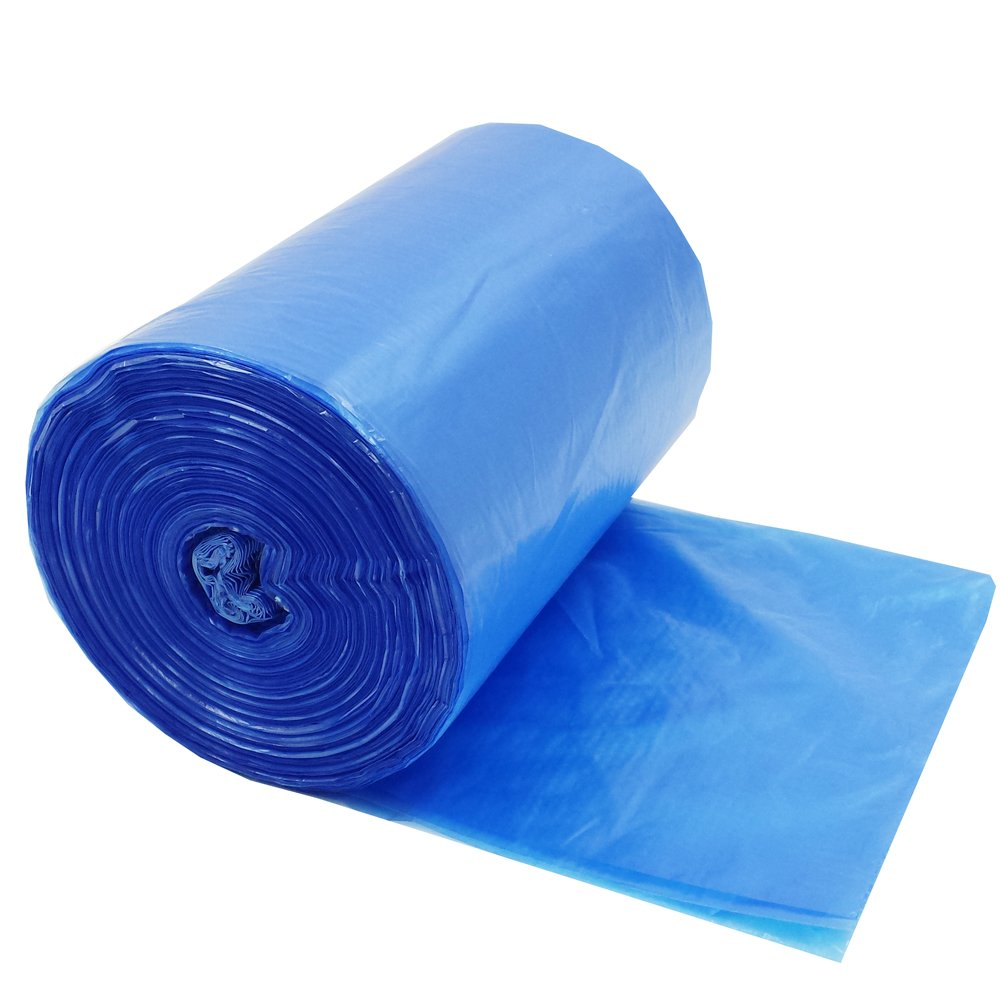 HOMMP 3 Gallon Trash Bags, Blue, 120 Counts Homeproduct 4555