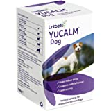 Lintbells YuCALM for Dogs, Natural Calming Supplement for Stressed or Nervous Dogs, 120 Tablets