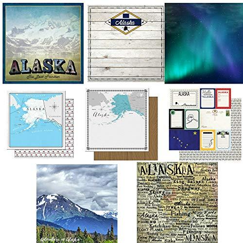 Custom Bundle of Alaska Themed Travel and Vacation 12