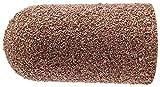 PFERD 46062 Policap Abrasive Cap, Shape L, Aluminum Oxide A, 27/32'' Diameter x 1-9/16'' Length, 60 Grit (Pack of 50)
