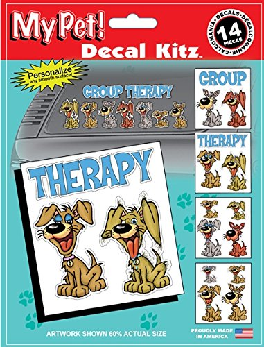 Chroma 45007 14-Piece My Pet Group Therapy Decal Kit