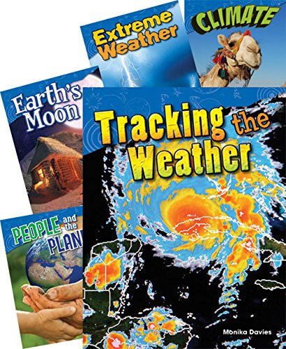 Teacher Created Materials - Science Readers: Content and Literacy: Earth and Space Science - 5 Book Set - Grade 3 - Guided Reading Level O - R