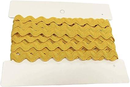 orange 3,9,14mm, cream ivory yellow Ric Rac Braid