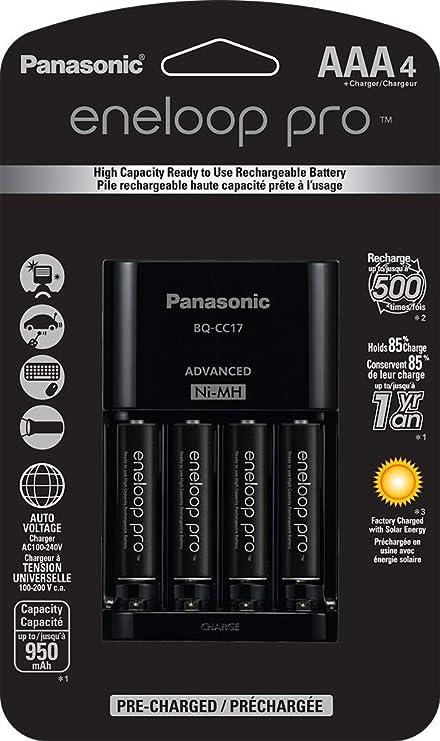 Amazon.com: Panasonic K-KJ17K3A4BA - Cargador de batería con ...