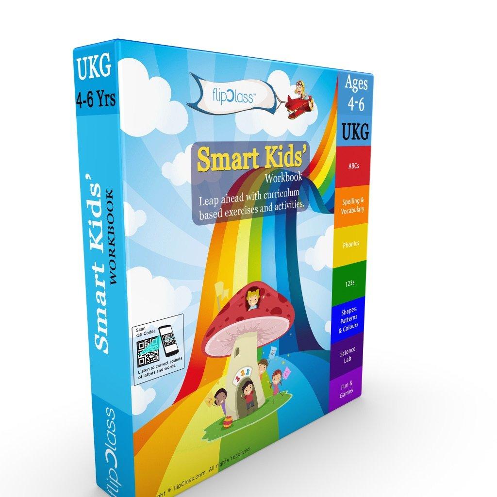 Buy Smart Kids Worksheets (Bundle) for UKG ( KG 2 ) and Montessori ...