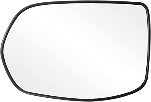 For Honda CR-V 12-16 Driver Side Mirror Glass w Backing Plate Non-Heated