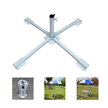 Aolvo Heavy Duty Parasol Stand Portable Beach Umbrella Stand