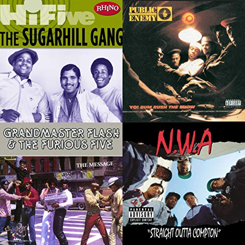 Pioneers of Hip-Hop (Old-school-hip-hop-gang)