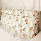 Washable bedside back pad / solid wood bed soft bag / bed back by bag / ( Size : 20060cm )