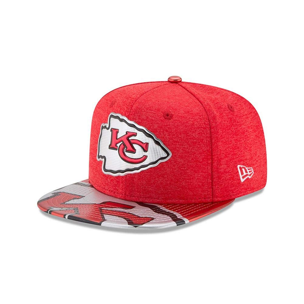 c319a6b538b Amazon.com   New Era NFL Kansas City Chiefs 2017 Draft On Stage 9Fifty  Snapback Cap